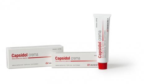 Imagen del producto CAPSIDOL 0.025% CREMA 60 G