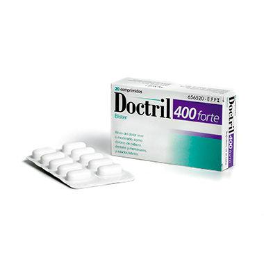 Imagen del producto DOCTRIL 400 FORTE  20 COMPRIMIDOS RECUBIERTOS