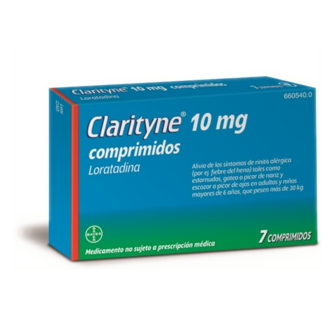 Imagen del producto CLARITYNE 10 MG 7 COMPRIMIDOS