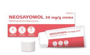 Imagen del producto NEOSAYOMOL 2% CREMA 30 G