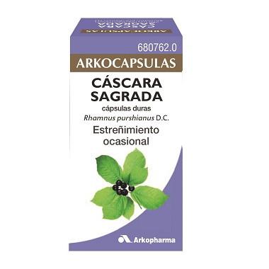 Imagen del producto ARKOCPASULAS CASCARA SAGRADA 250 MG 50 CÁPSULAS DURAS