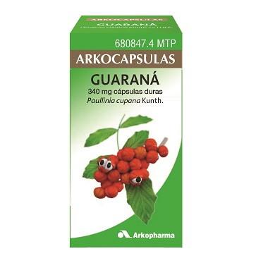 Imagen del producto ARKOCAPSULAS GUARANÁ 340 MG 50 CÁPSULAS DURAS