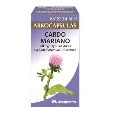 Imagen del producto ARKOCÁPSULAS CARDO MARIANO 300 MG 50 CÁPSULAS DURAS
