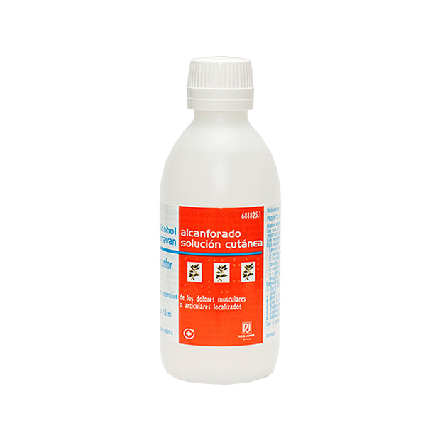 Imagen del producto ALCOHOL ALCANFORADO ORRAVÁN SOLUCIÓN 250 ML