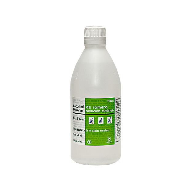 Imagen del producto ALCOHOL ROMERO ORRAVAN SOLUCIÓN 250 ML