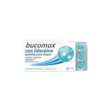 Imagen del producto BUCOMAX LIDOCAINA SABOR MENTA 8 PASTILLAS PARA CHUPAR