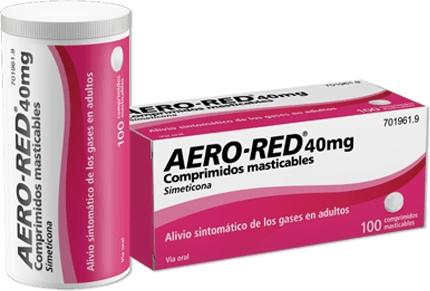 Imagen del producto AERO RED 40 MG 100 COMPRIMIDOS MASTICABLES