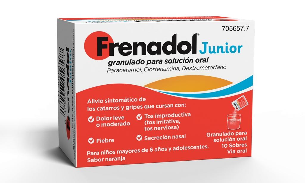 Imagen del producto FRENADOL JUNIOR 10 SOBRES