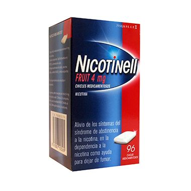 Imagen del producto NICOTINELL FRUIT 4 MG 96 CHICLES MEDICAMENTOSOS