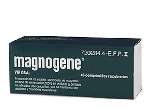 Imagen del producto MAGNOGENE 45 COMPRIMIDOS RECUBIERTOS