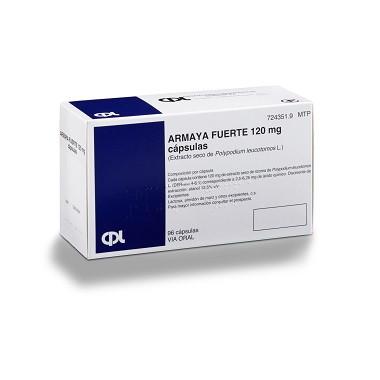 Imagen del producto ARMAYA FUERTE 120 MG, CÁPSULAS DURAS (96 cápsulas)