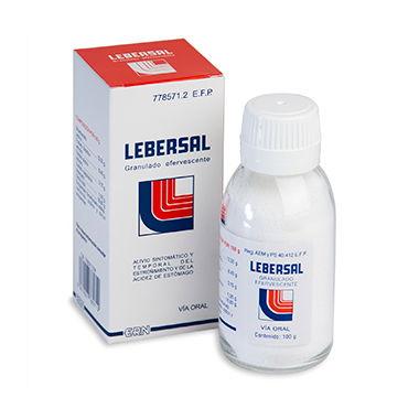 Imagen del producto LEBERSAL (GRANULADO EFERVESCENTE 100 G)