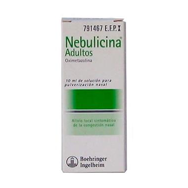 Imagen del producto NEBULICINA ADULTOS 0.05% NEBULIZADOR 10 ML