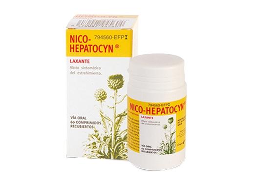 Imagen del producto NICO HEPATOCYN 60 COMPRIMIDOS RECUBIERTOS