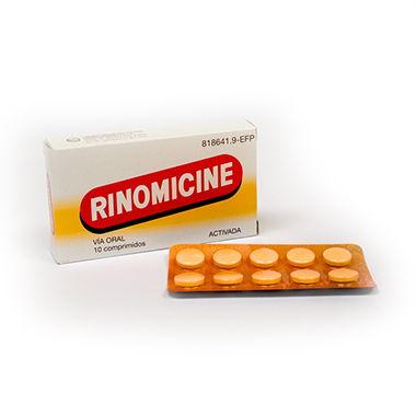 Imagen del producto RINOMICINE  10 COMPRIMIDOS