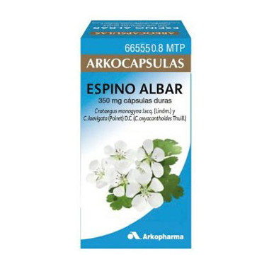 Imagen del producto ARKOCÁPSULAS ESPINO ALBAR 350 MG 84 CÁPSULAS DURAS