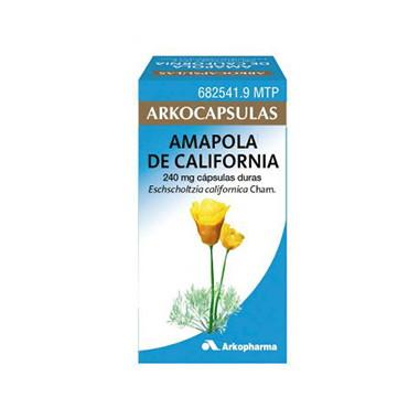 Imagen del producto ARKOCÁPSULAS AMAPOLA DE CALIFORNIA 240 MG CÁPSULAS DURAS