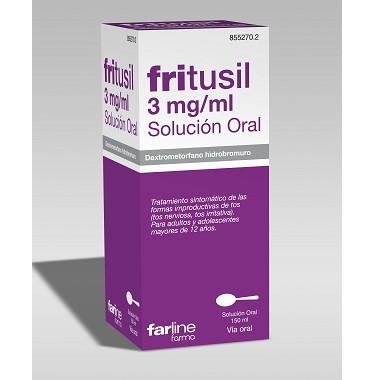 Imagen del producto FRITUSIL 3 MG/ML SOLUCIÓN ORAL , FRASCO CON 150 ML