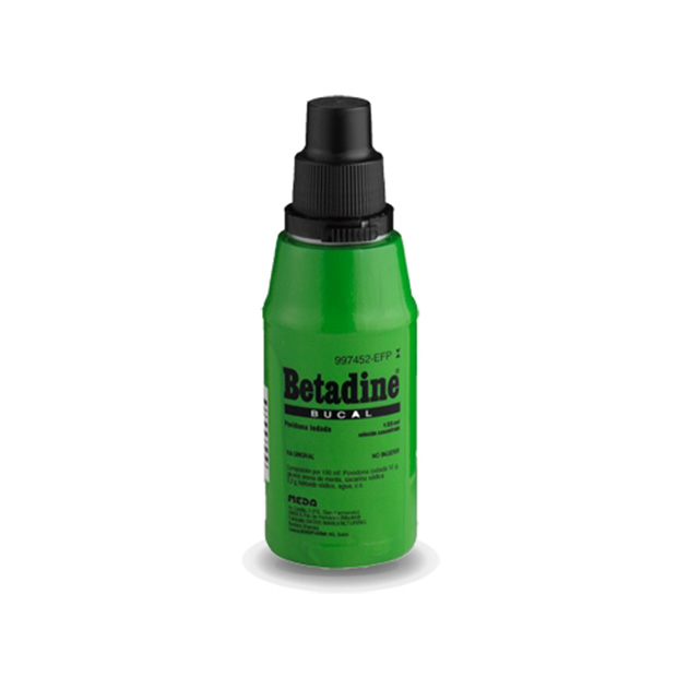 Imagen del producto BETADINE BUCAL  10% SOLUCIÓN 125 ML