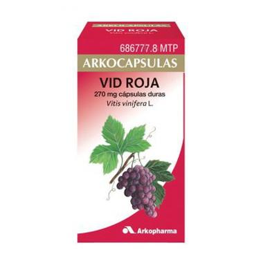 Imagen del producto ARKOCAPSULAS VID ROJA 270 MG 100 CÁPSULA S DURAS